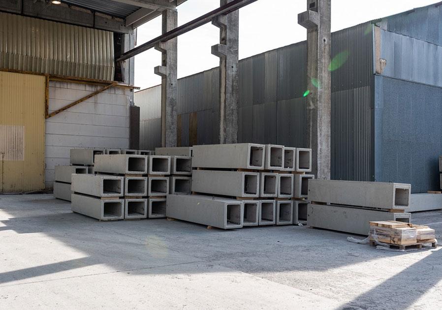 PBM Group Produktgebäudeleitungen Beton