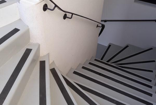 escalier pbm