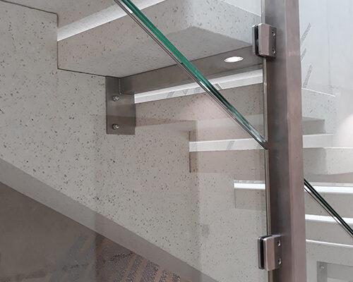 Escalier PBM - Crédit Agricole Beauvais
