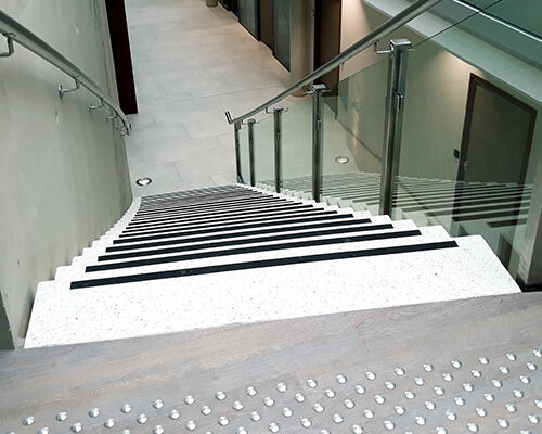 escalier pbm courbe