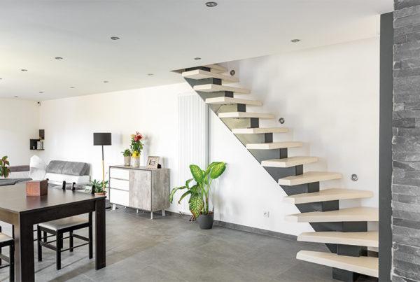 so loft pbm escalier béton métal