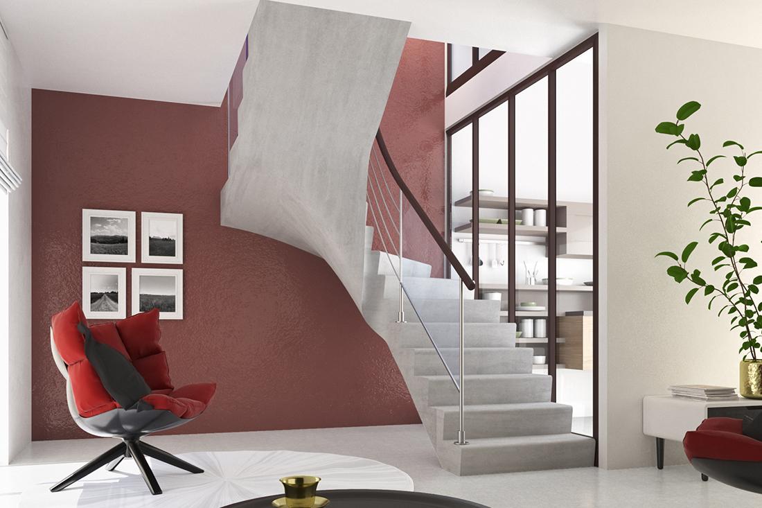 Escalier Interieur Beton Design catalogue tendance béton - groupe pbm