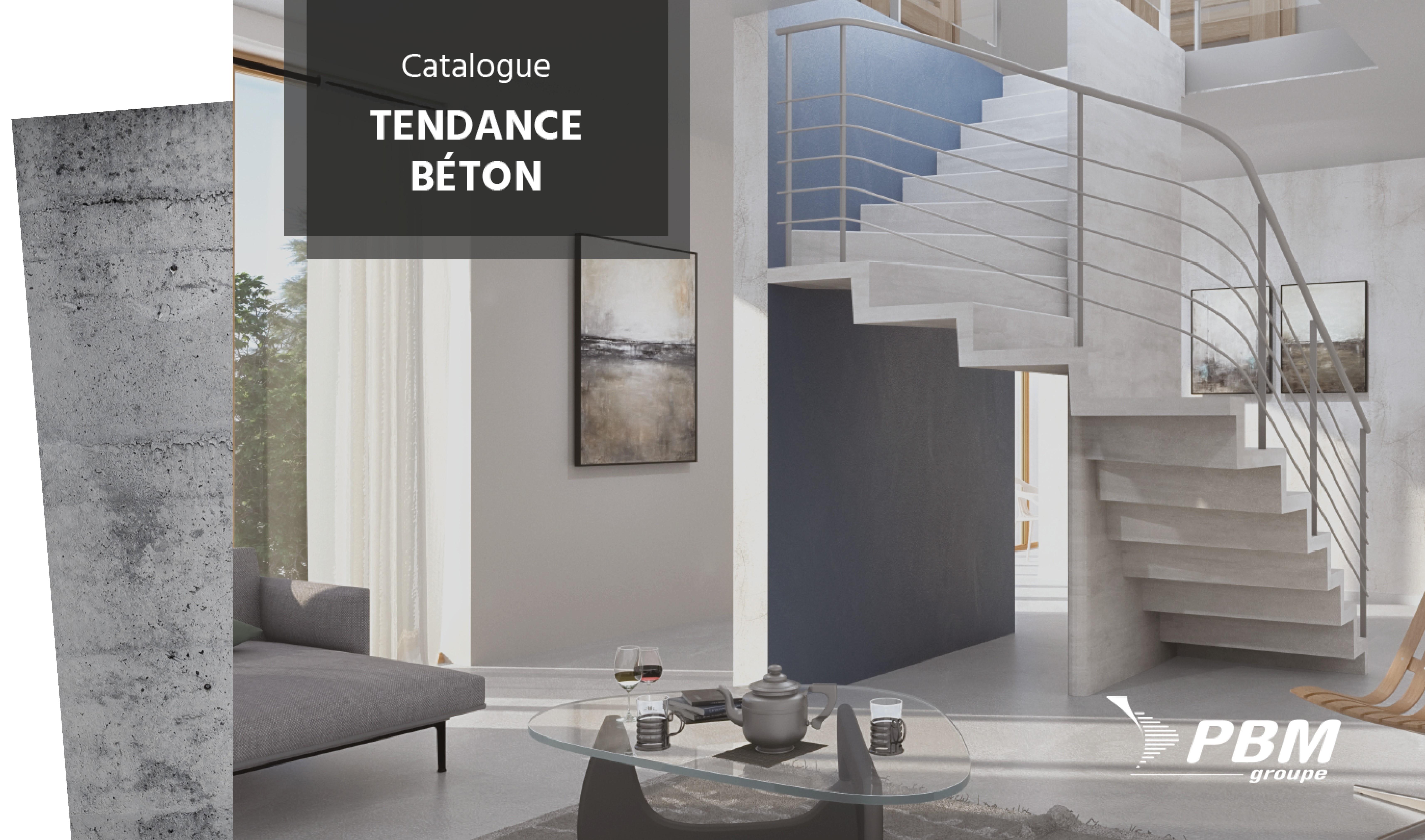 Catalogue Tendance Béton