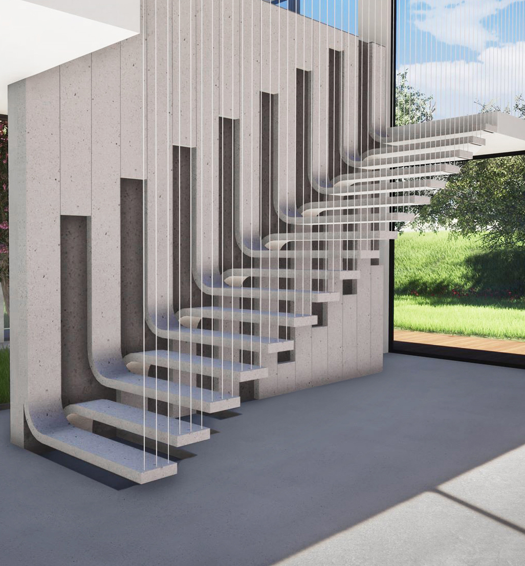 peel concrete stairs design awards